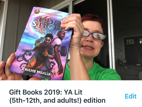 Friday Five: Gift Books: YA Lit Edition