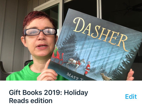 Friday Five: Gift Books: Holiday Reads Edition