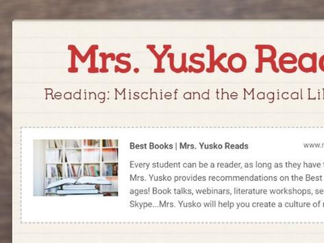 Mrs. Yusko Reads: May Newsletter