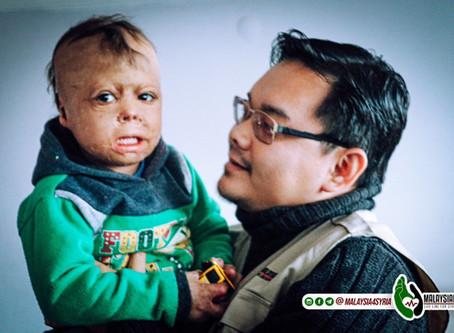 NGO Malaysia seperti Malaysian Life Line for Syria dan Yang Lain Menaja Perubatan 3 Orang Bayi Tenat