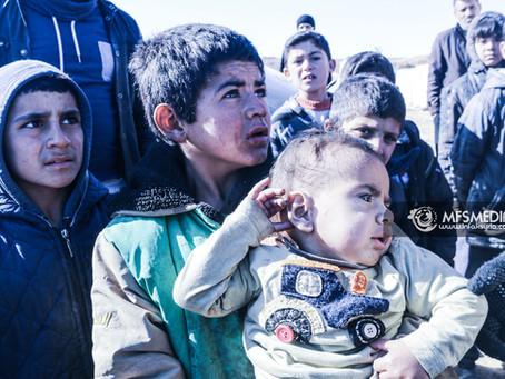 Keadaan Pelarian Syria di Jarabulus.