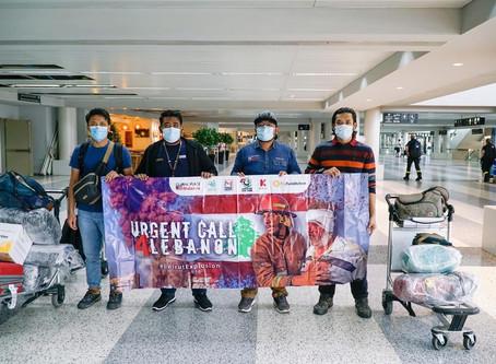 MALAYSIA FOR SYRIA (MFS) DAN NGO-NGO MALAYSIA LAKSANA MISI KEMANUSIAAN PEDULI LUBNAN