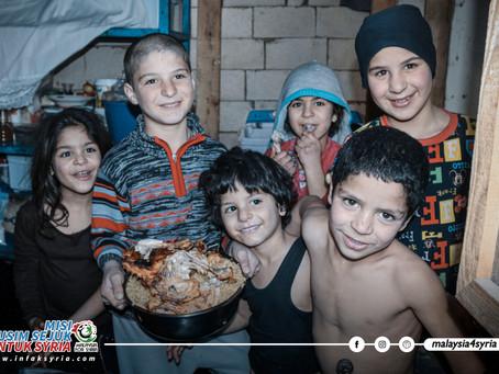 'BERDEGIL' KE LUAR NEGARA, PETUGAS KEMANUSIAAN NEKAD LAKSANA MISI MUSIM SEJUK UNTUK SYRIA KALI KE-9