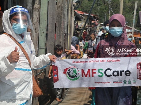Sabah : MFSCare Turun Menyantuni Rakyat Terjejas Akibat Wabak Covid-19