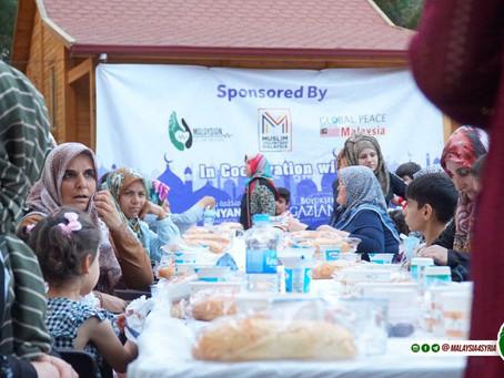 MENYANTUNI PELARIAN SYRIA MELALUI MISI RAMADHAN AL-HABEEB 7.0
