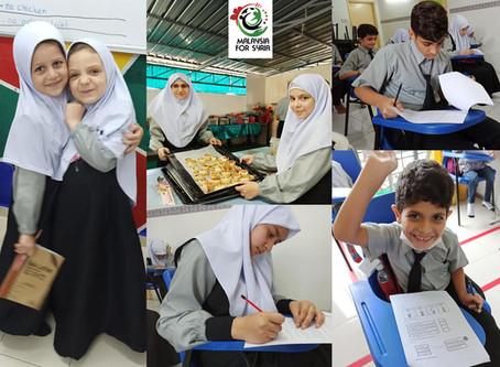 Van Sekolah untuk Anak Syria