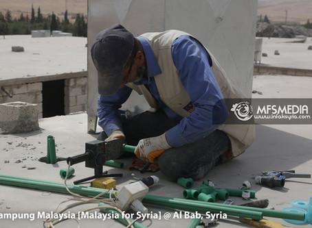 #Kemaskini : KAMPUNG SYRIAN AL-HAYAH