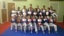Karate Alba 2017 Kumite Squad