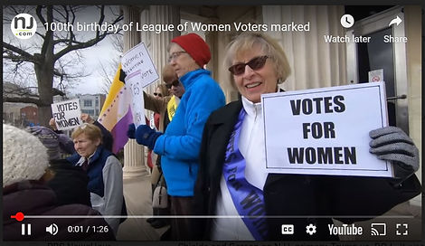 100th birthday of LWV Video photo at Tre