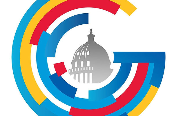 Capitol encircled in colorful design.jpg
