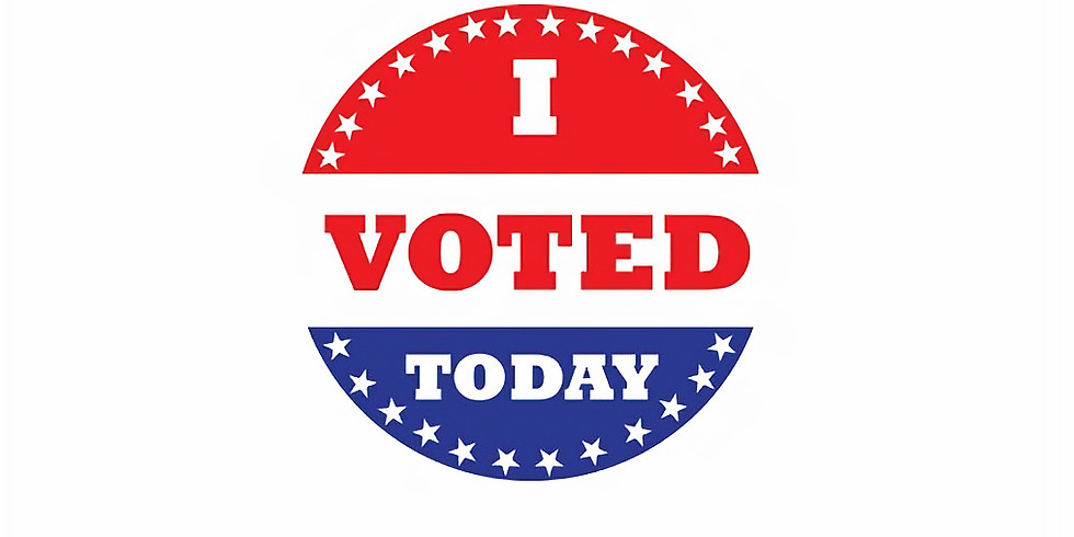 Tuesday, June 4, 2019 Primary Election Day