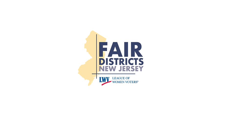 Redistricting Reform to a Fairer New Jersey-Public Forum.  All are welcome.
