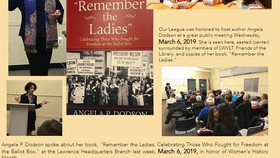 """March 6, 2019 Author Angela P. Dodson discusses her book """"Remember the Ladies"""""""