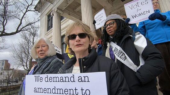 Women Power the Vote Ellen Maak photo by