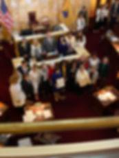 NJ Senate proclaimation 100 years suffra