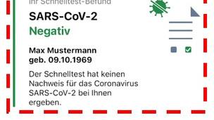 Jetzt Neu: Speichern Sie das Testergebnis Ihres Schnelltests in der Corona Warn App