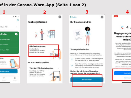 Schritt-für-Schritt Anleitung: Lassen Sie Ihr Testergebnis in der Corona Warn App anzeigen