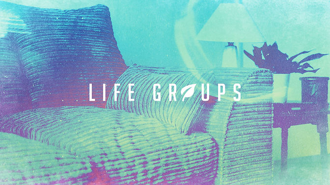 Life Groups We're Better Together Green