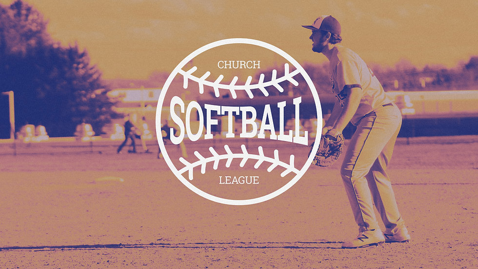 Church Softball League Sign Up Today Fie