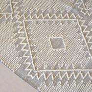 4x5 textured rug  35.  qty. 1