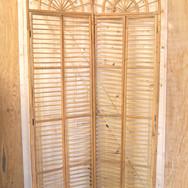 bamboo shutter backdrop  45.  qty. 1