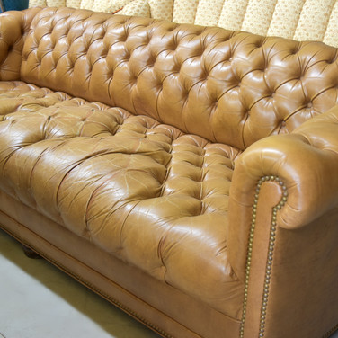 chesterfield sofa  175.  qty. 1