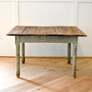 country chippy green table  45.  qty. 1