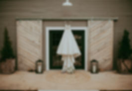 Front entrace barn doors oklahoma wedding venue