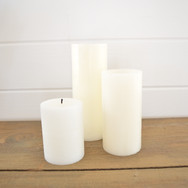 real wax pillar candles  price at market value  custom purchase