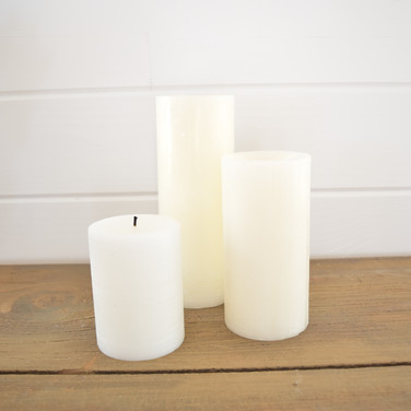 real wax pillar candles  price market value  custom purchase