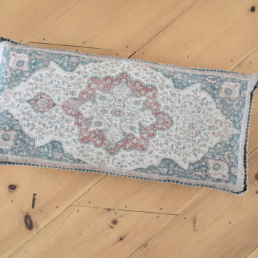 large moroccan print rectangle pillow  qty. 1