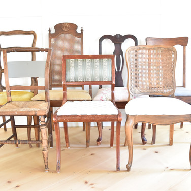 natural brown chairs  5. ea