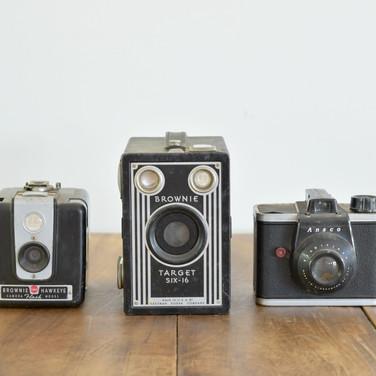 vintage cameras  10. ea  qty. 3