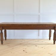 8' walnut farm table  75.  qty. 1