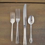 antique silverware  1. ea  qty. 12 each type