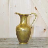 brass pitcher  15.  qty. 1