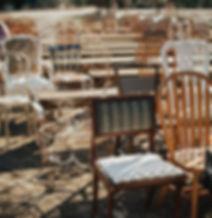 vintage chair rentals okc
