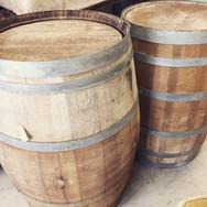 french wine barrels  40. ea  qty. 4