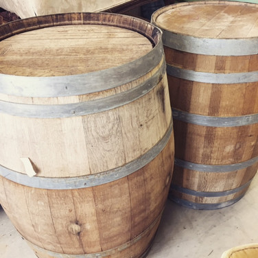 french wine barrels  40. ea  qty. 4