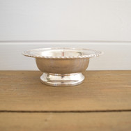 silver footed bowl  10.  qty. 2