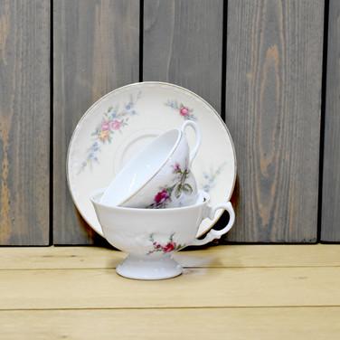 teacups & saucers  3. each set  qty. 75