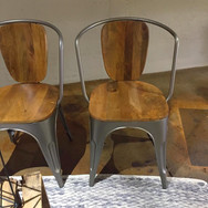industrial chairs  10. ea  qty. 2