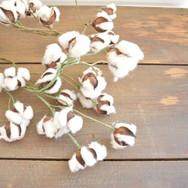 6' long cotton garland  15. ea  qty. 2