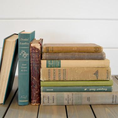assorted vintage books  1.50 ea