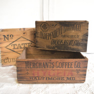 assorted graphic crates  qty. 7