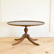 oval coffee table  35.   qty. 1