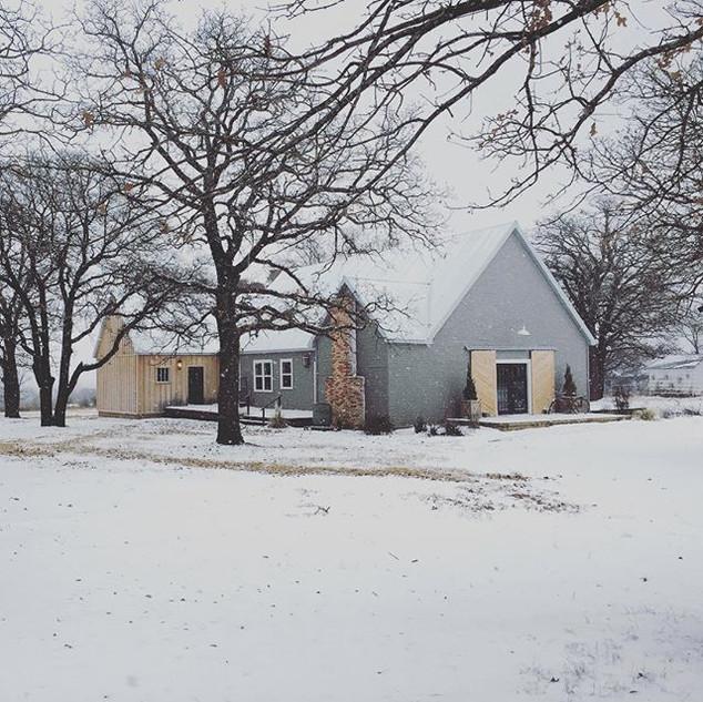 #modernfarmhouse #snow #farm #grassroots