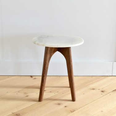 marble top end table  25.  qty. 2
