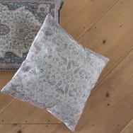 moroccan print square pillow  qty. 1