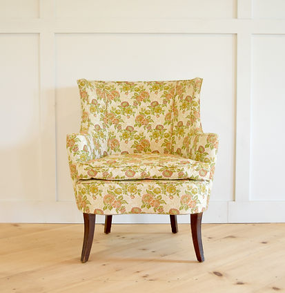 vintage rentals upholstered seating